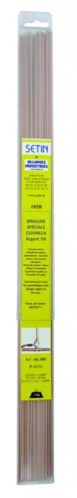 Brasure cuivre Phosphore