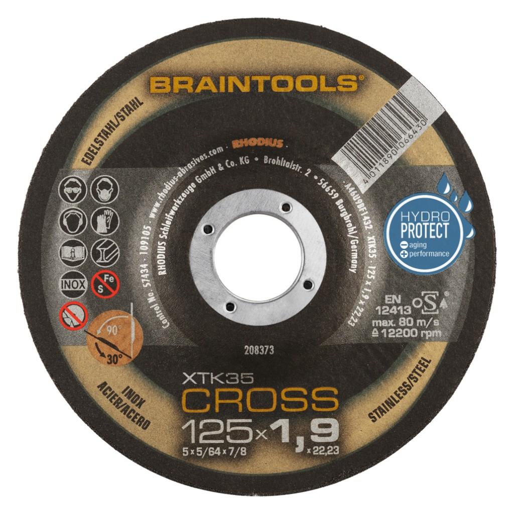 XTK35 Cross - acier / inox HydroProtect