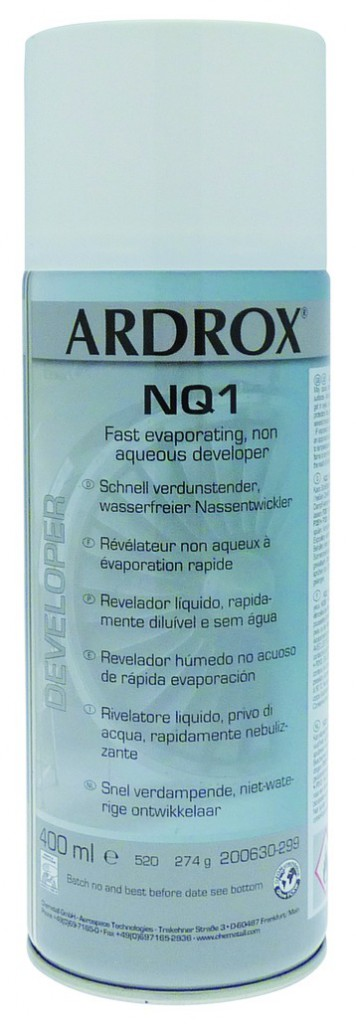 Ardrox révélateur NQ1