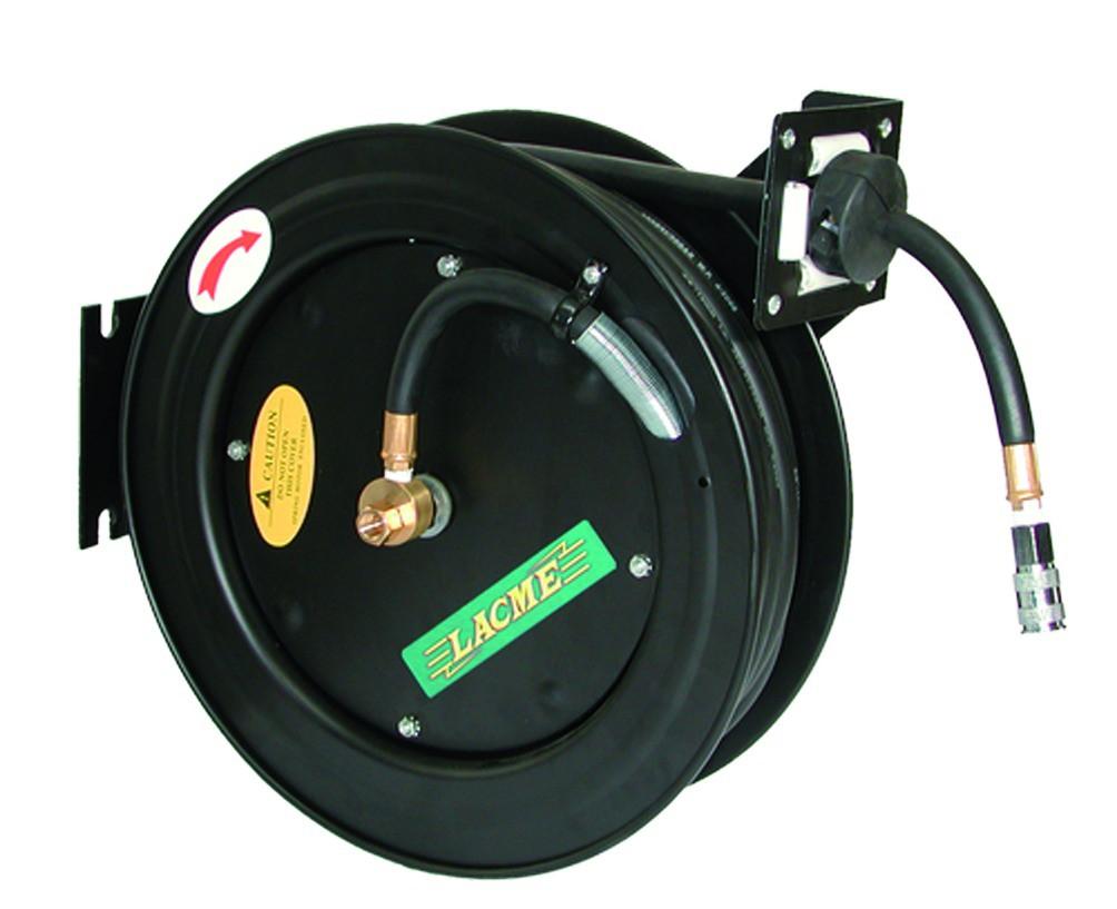 Enrouleur tuyau d'air comprimé automatique
