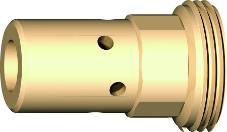 Support tube contact