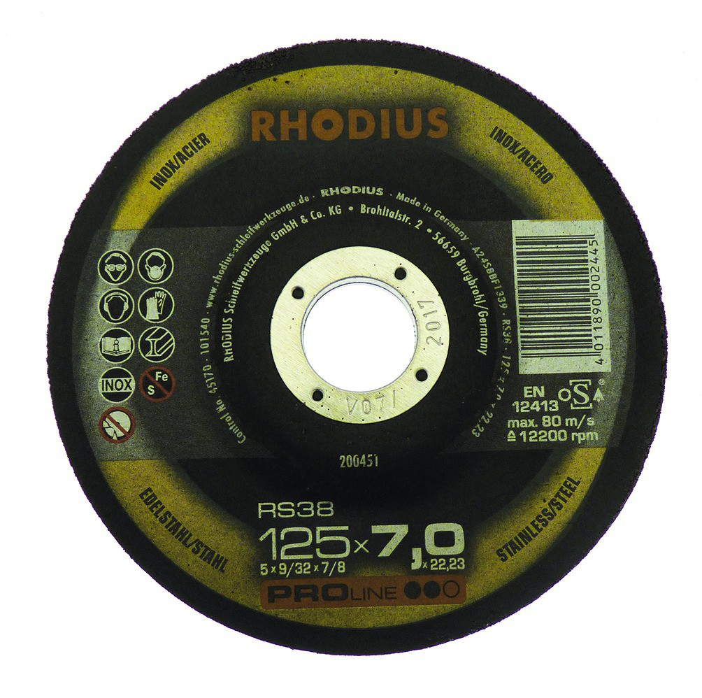 RS38 - acier/inox