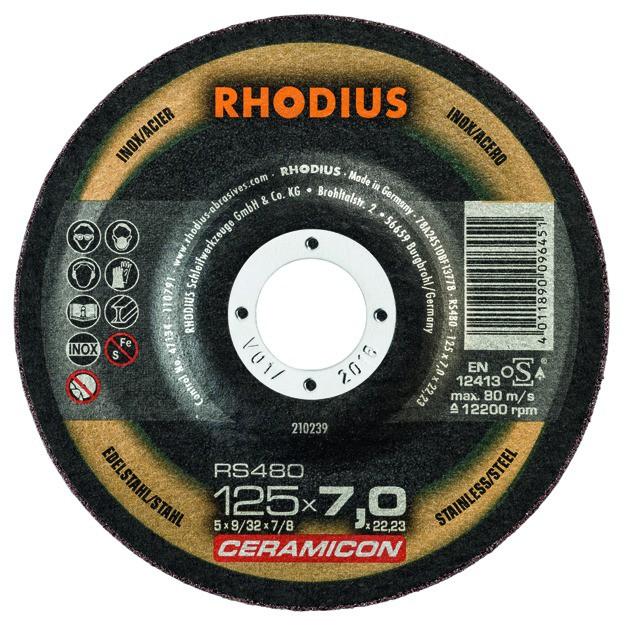 RS480 - gamme Céramicon acier/inox