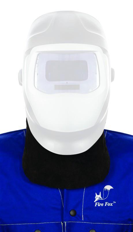 Protection cou cuir pour masque de soudure