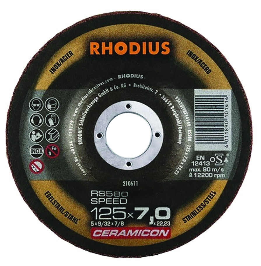RS580 Speed - gamme Céramicon acier / inox