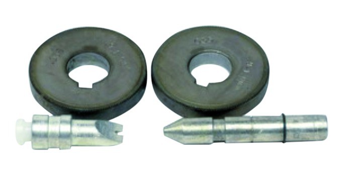Kit de 2 galets - fils fourrés de 0,9-1,1 mm