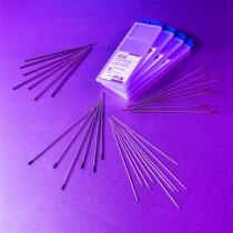 Acier/inox - tungstène lanthane 2 % (bout bleu)