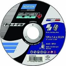 DISQUE ACIER INOX SB4 125X1,0