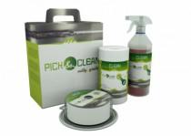 Lingettes Pick & Clean et solution neutralisante Inox Fit