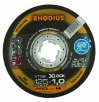 DISQUE XT38 X-LOCK 125X1,0X22,23